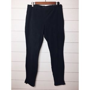 Theory   Blue Ankle a Skinny Side Zip Pants